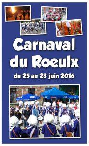 affiche paysage carnaval 2016 - Le Roeulx - sans programme