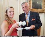 Presse : Le thé des Rhodiens, à la rose bien sûr !