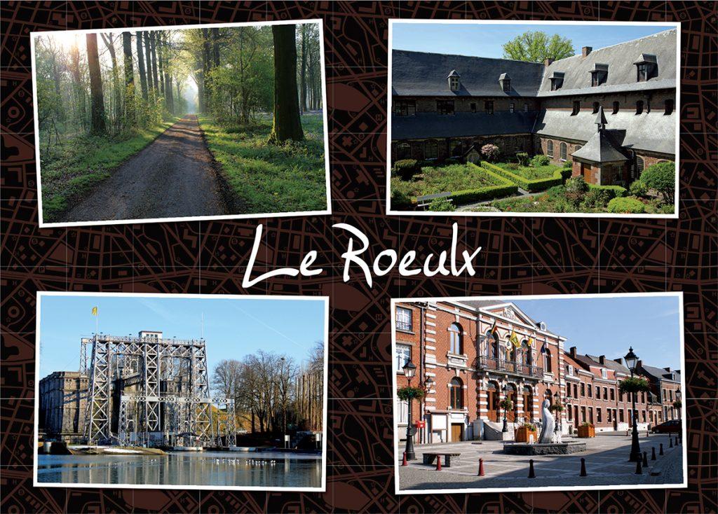 Carte Postale  U0026quot Le Roeulx U0026quot
