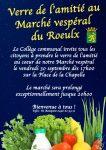 Apéro offert au Marché vespéral du Roeulx ce vendredi 30 septembre !