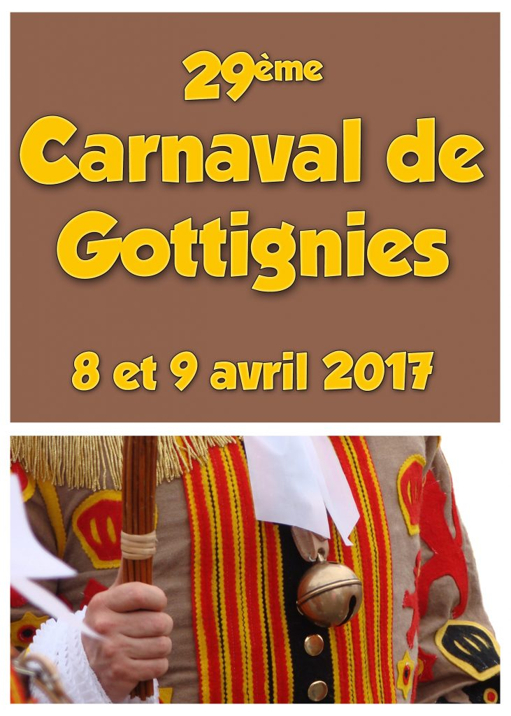 2017 - Samedi 8 avril et dimanche 9 avril 2017  29ème Carnaval Gottignies Carnaval-2017-Gottignies-731x1024