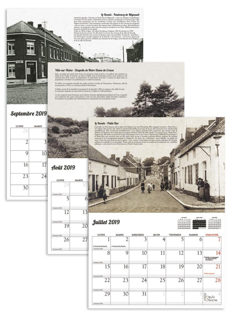 Souvenirs rhodiens calendrier 2019 de l office du tourisme du roeulx office du tourisme du - Office du tourisme de vias ...