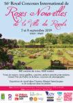 56e Royal Concours International de Roses Nouvelles du Roeulx ces 7 et 8 septembre