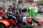Photos de la 6e Bénédiction des Motards, 5e Rallye St-Feuillien et baptême en voitures de prestige (J. Leclercq)