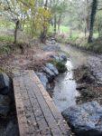 Aménagement des passages à gué des randonnées balisées de l'Entité