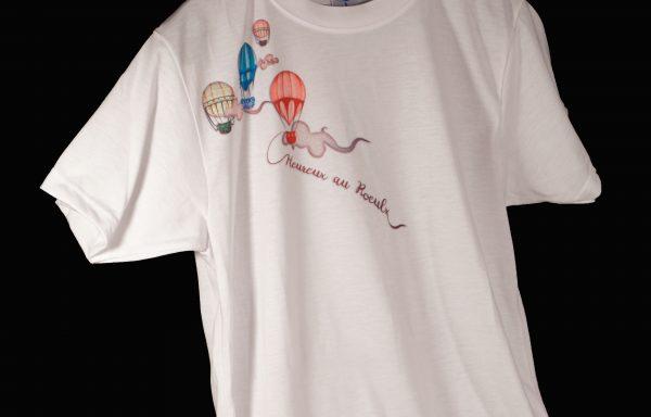 """T-shirt Femme """"Heureux au Roeulx"""""""