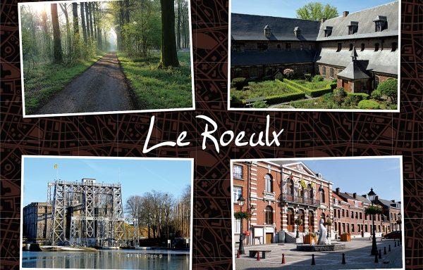 "Carte postale ""Le Roeulx"""