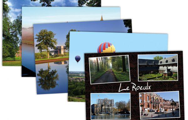 Lot de 5 cartes postales