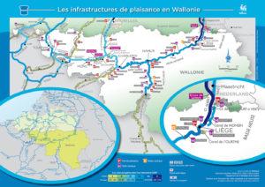 Cartographie des ports de plaisance et livret sur le tourisme fluvial
